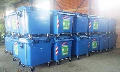 Ρεκόρ ανακύκλωσης στον Δήμο Λαγκαδά - 100 νέοι κάδοι σε όλες τις Δημοτικές Ενότητες